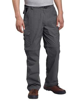 BC Clothing Men's Convertible Stretch Cargo Pants NWOT (Vari