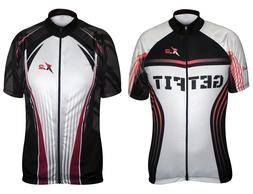 Men's Cycling Jerseys Bike Short Shirts Bicycle Tops MTB Bib