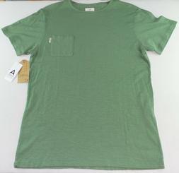 AMBIG Clothing Men's Dillon Pocket Crew Neck T Shirt Large G