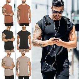 Men's Fitness Athletic Quick Drying Elastic T-shirt Gym Shor