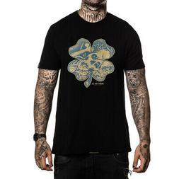 Sullen Men's Fools Gold Short Sleeve T Shirt Black Clothing