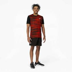 PUMA Men's ftblNXT Core Graphic Shirt Black Size XL