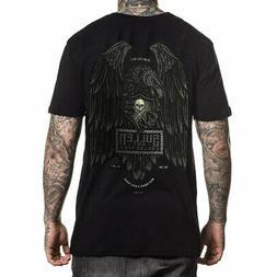 Sullen Men's Iron Eagle Short Sleeve T Shirt Black Clothing