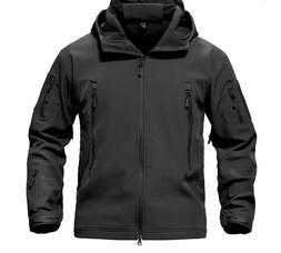 Men's Jacket Coat Military Tactical Themed Waterproof Windbr