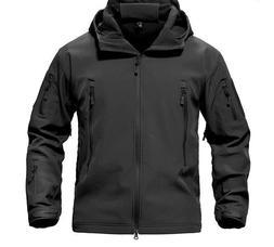 Men's Jacket Coat Military Tactical Themed Waterproof Windbr