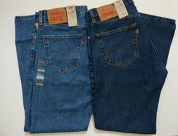 Men's Levi's 505 Regular Fit Jean 100% Cotton - All Sizes -