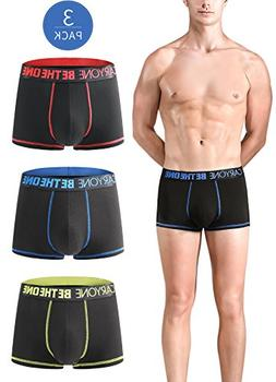 Men's Micro Modal Quick Dry Ultra Soft Second Skin Boxer, U
