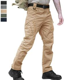 Men's Military Tactical Pants Army Outdoor Training Hiking T