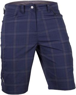 Club Ride Men's Mountain Surf Plaid Bike Shorts, Lightweight