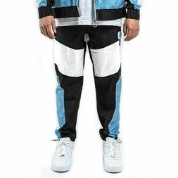 Pink Dolphin Men's Mr. Positive Windbreaker Pants Light Blue