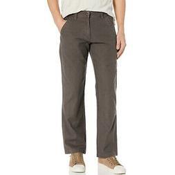 Volcom Men's Nailer Canvas Pants Major Brown Regular Fit Uti