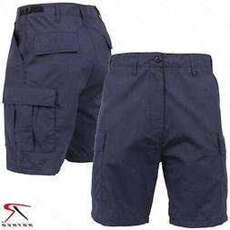 Men's Navy Blue Lightweight Shorts - Rothco SWAT Cloth Rip-S