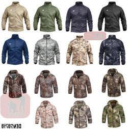 Men's Outdoor Military Tactical Coats QuickDry Lightweight J
