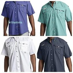Columbia Men's PFG Bahama II Short Sleeve Shirt Size: X-Smal