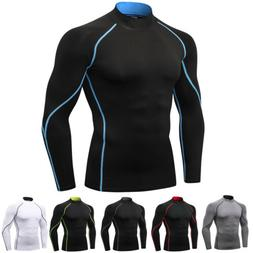 Men's Pro Performance Compression Shirt Long Sleeve Base Lay