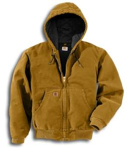 men s quilted flannel lined sandstone active