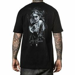 Sullen Men's Raven Standard Short Sleeve T Shirt Black Sharu