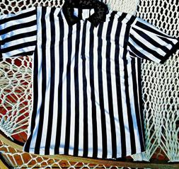 Men's Referee Shirt 1/2 Zip XL SS Basketball Football Soccer