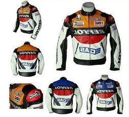 Men's REPSOL Sports Motorcycle Racing Jacket Cycling Protect