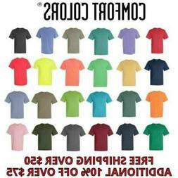 Comfort Colors Men's Short Sleeves Ringspun Garment Dyed T-S