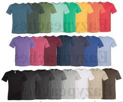 Canvas, Men's Size S-3X, Bella Short Sleeve Heather T-Shirts