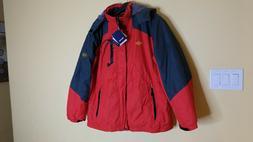 Wantdo Men's Size XL Hooded Waterproof Jacket Coat Windproof