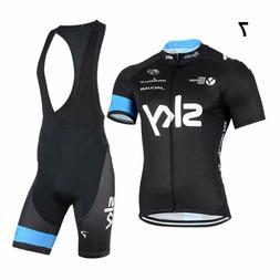 men s sport team cycling jersey sets