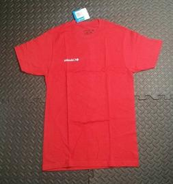 Men's Columbia Sports Wear Camp Ski Apparel T Shirt SZ S Red