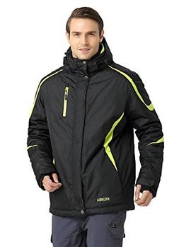 Krumba Men's Sportswear Outdoor Waterproof Windproof Hooded