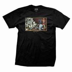 DGK Men's Still Life Short Sleeve T Shirt Black Clothing App