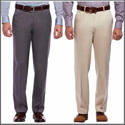 Haggar Clothing Men's Sustainable Stretch Chino Pants