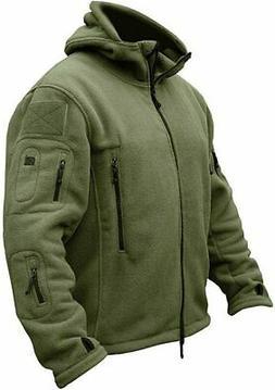 TACVASEN Men's Tactical Fleece Jacket