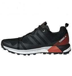Men's adidas Terrex Agravic Hiking Shoes CM7615 Black Carbon