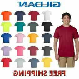Gildan Men's Ultra Cotton T-Shirt Short Sleeve Tee Plain Bla