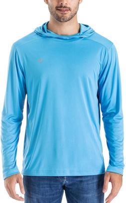Naviskin Men's UPF 50+ UV Sun Protection Hoodie Lightweight