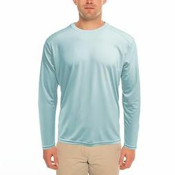 Vapor Apparel Men's UPF 50+ UV Sun Protection Repreve® Long