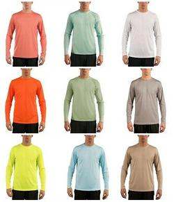 Vapor Apparel Men's UPF 50+ UV Sun Protection Sports Long Sl