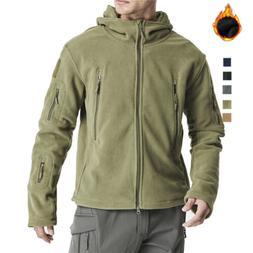 Men's Winter Coats Hooded Military Army Jackets Parka Hiking