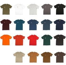 Carhartt - Men's Work Wear Pocket T-shirt, Cotton, Regular,
