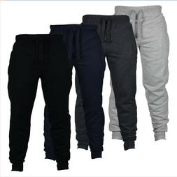Men Sport Pants Gym Workout Exercise Fitness Jogging Trouser