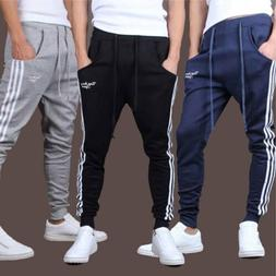 Men sportswear Pants Casual Elastic Cloth Mens Fitness Worko