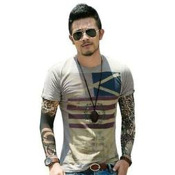 Men T-Shirt Brand Clothing t-shirts Fashion T Shirt Short Sl
