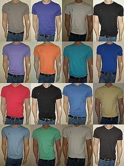 POLO RALPH LAUREN MEN T-SHIRTS CREW NECK AND V-NECK S,M,L,XL