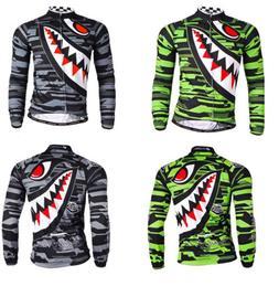 menroad bike clothing breathable cycing jersey long