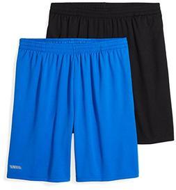 Amazon Essentials Men's 2-Pack Loose-Fit Performance Short