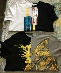 Men's 2 Shirt Lot One Resolution Clothing Size Small S Gra