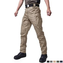 Mens Cargo Pants Tactical Combat Trousers Police Outdoor Bot