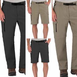 BC Clothing Men's Convertible Pants