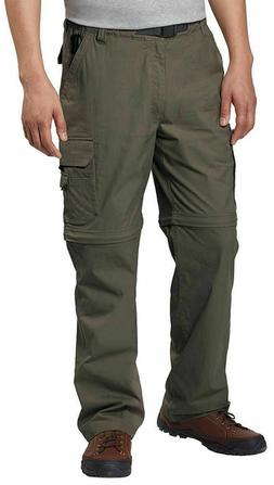 BC Clothing Mens Convertible Stretch Cargo Hiking Pants Zipp
