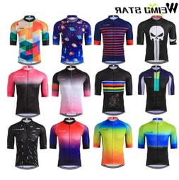Men's Cycling Jersey Tour De France Pro Short Sleeve Bike